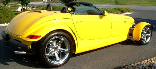 Chrysler Plymouth Prowler Photos Amp Pictures Of Yellow Prowler