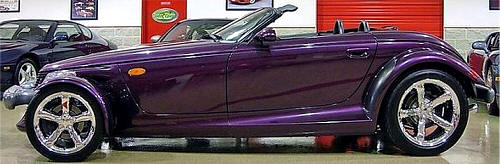 Chrysler Plymouth Prowler Photos & Pictures of Purple Prowler