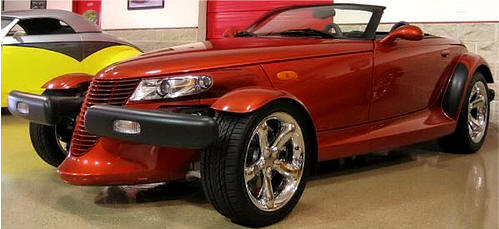 Chrysler Plymouth Prowler Photos & Pictures of Orange Prowler