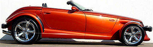 Chrysler Plymouth Prowler Photos Amp Pictures Of Orange Prowler