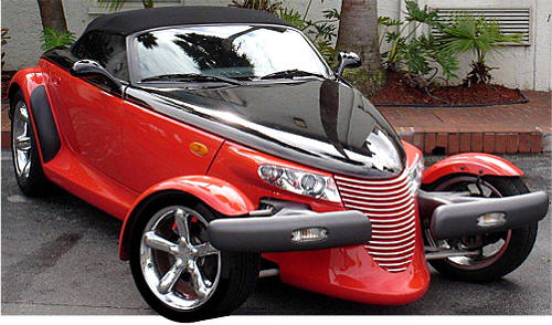 Pictures Grille Kit on plymouth prowler accessories