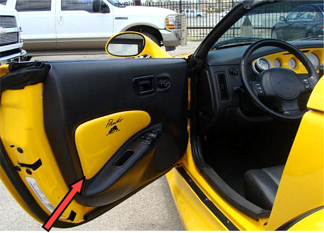Interior Parts Of A Car Door