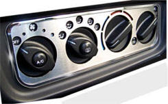 Stainless Steel A/C Control Panel Cover...