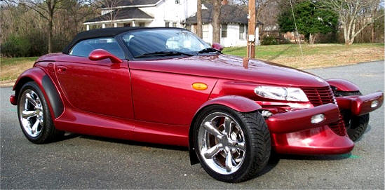 Chrysler Plymouth Prowler Photos & Pictures of Candy Red Prowler