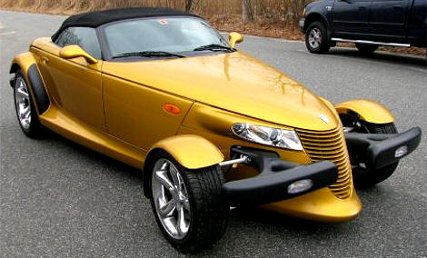 Prowler Gold on Plymouth Car