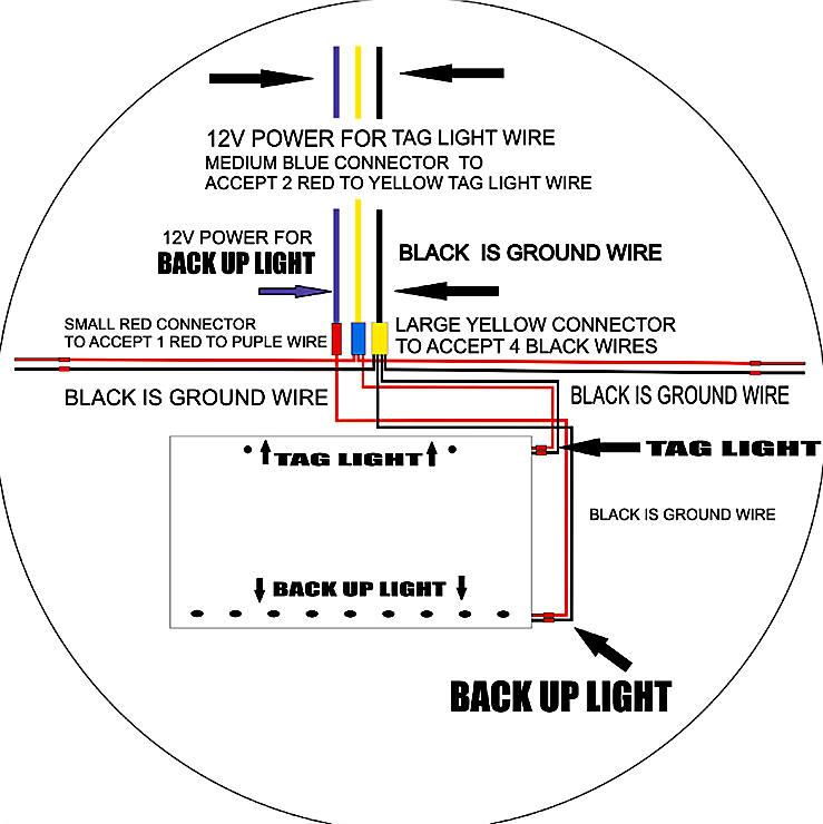 prowler rear bumper fairing poli number plate light wiring diagram tag light wiring diagram