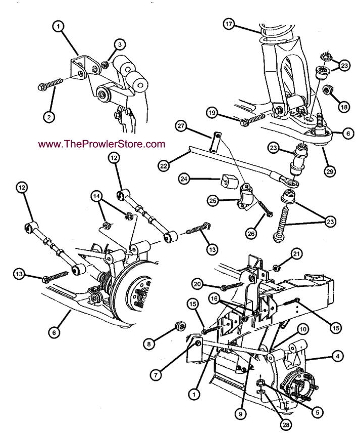 Chrysler Concorde Suspension Diagram