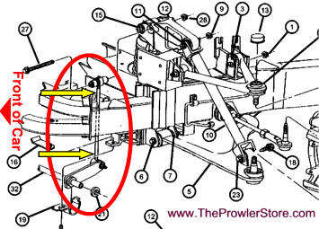 Plymouth Prowler Suspension parts